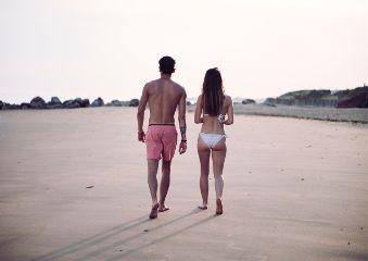 freetoedit beach couple love summer
