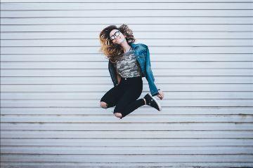 freetoedit jump girl fun crazy