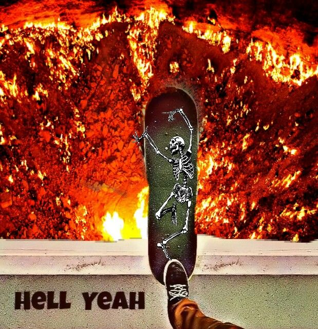I just won a trip to #hell #stickerstime #daredevil#remixit