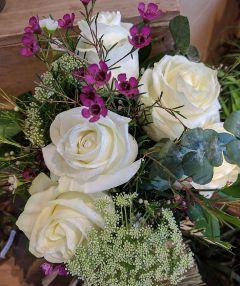 freetoedit white roses indoor noedit