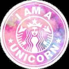 starbucks unicorns freetoedit