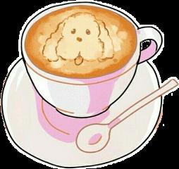kawaii cute coffee makkachin yurionice
