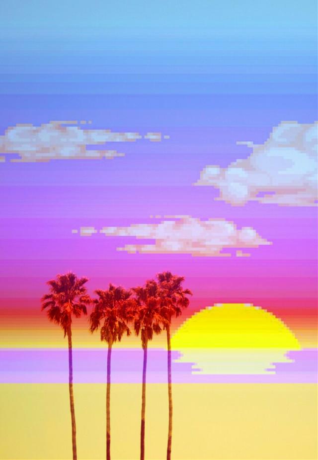 #vaporwave #pixelart