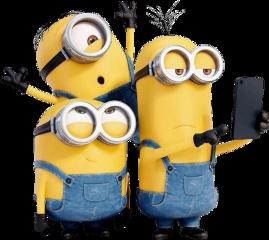 minions iloveminions yellow bananas sticker