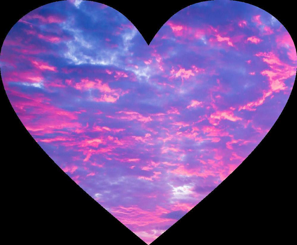corazon rosa cielo tumblr lindo rosa violeta lila delic