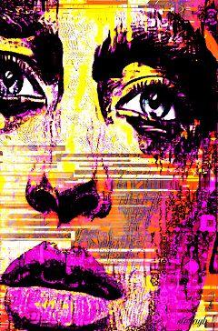 colorful retro vintage popart psychedelic