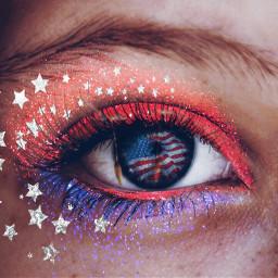 freetoedit fourthofjuly patriotic redwhiteandblue sparkles