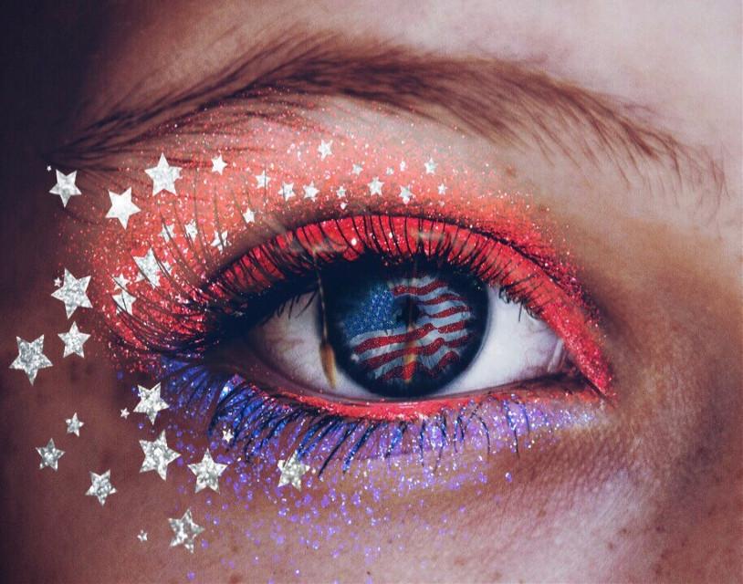 #freetoedit #fourthofjuly #patriotic #redwhiteandblue #sparkles