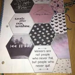 interesting freetoedit art hexagons pattern
