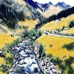 freetoedit wonderland wonderlandmagiceffect landscapefreetoedit natures