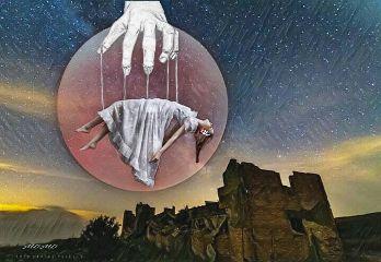 remixedwithpicsart surrealism moon freetoedit