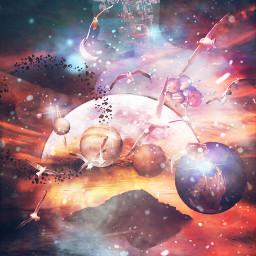planetsamongus freetoedit planets space stars