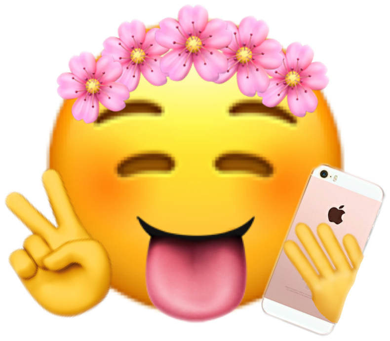 Took me forever to do this emoji savage cute peace tren...