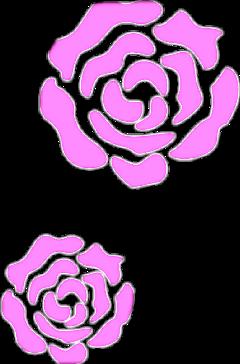 薔薇 バラ ローズ かわいい ステッカー