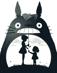 totoro anime pelicula estudioghibli mivecinototoro