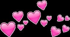 tumblr hearts corazones pink corona