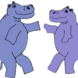wdpdancinghippos dancing funny cartoon dancinghippos freetoedit