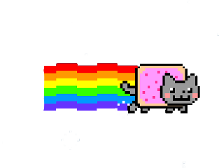 gato arcoiris🌈 tumblr freetoedit arcoiris