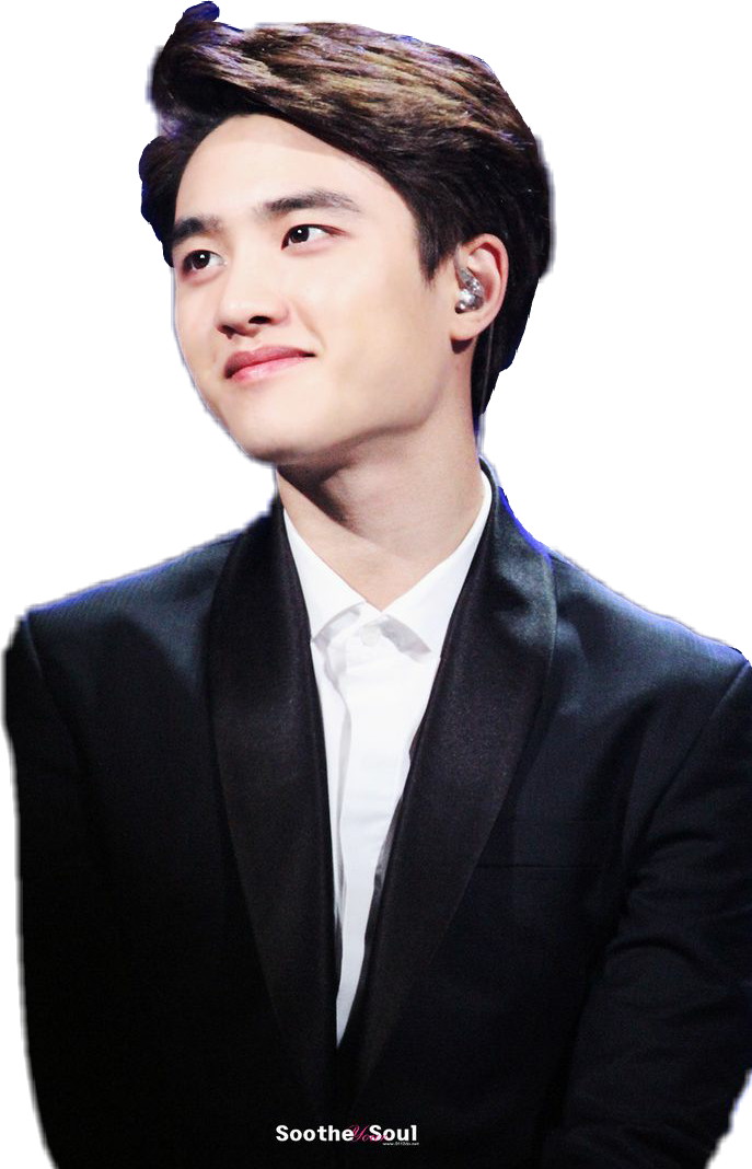 exo d.o do kyungsoo cute smile - Sticker by My