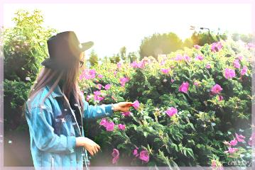 freetoedit by girl remixed beautiful flowers freetoedit
