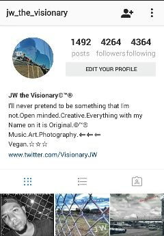 instagram follow artist photographer writer