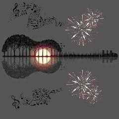 remixed musical fireworks freetoedit