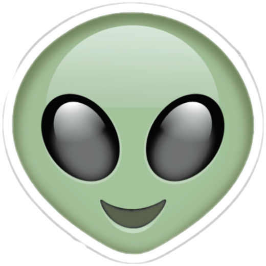 #alien #green#freetoedit