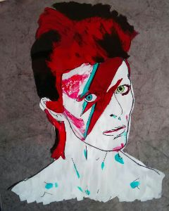 drawing acrylic theprometeus ink bowie