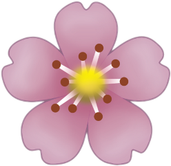 эмоджи цветок эмодзи freetoedit
