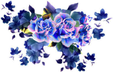 ftstickers flowers blue