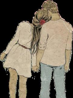pareja chica chico novios freetoedit