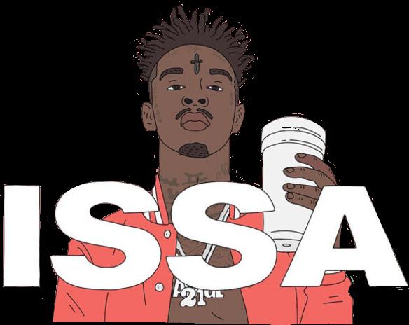 #ftestickers #issa #21savage #celeb #rapper#freetoedit
