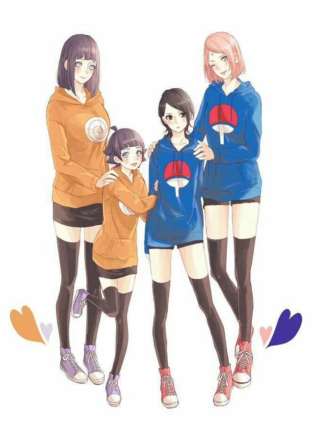 #hinata #yuuga #hinatahyuuga #himawari #uzumaki #himawariuzumaki #sarada #uchiha #saradauchiha #sakura #haruno #sakuraharuno #cute