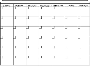 calendar freetoedit