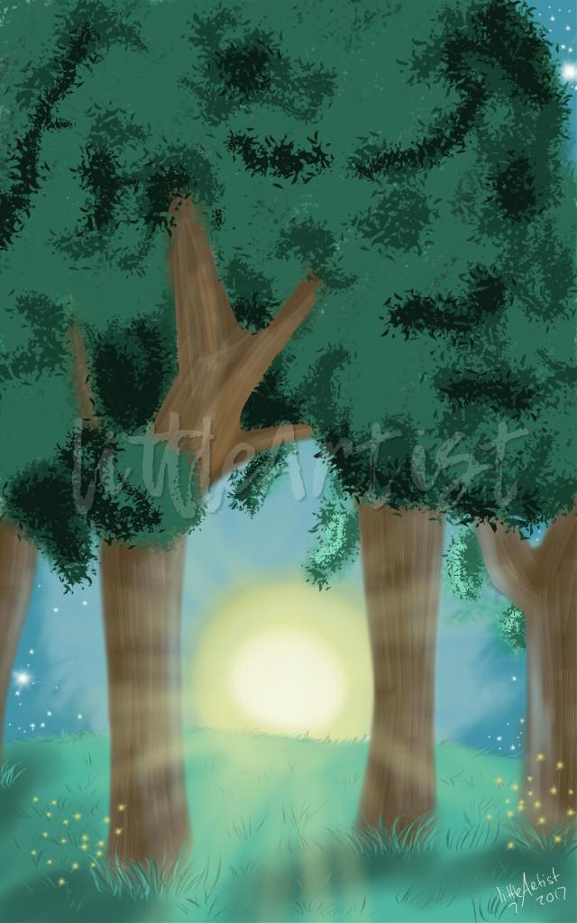 #digitalart #autodesksketchbook #nature #tree #beautiful #drawing