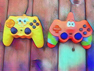 freetoedit videogame spongebob videogameday