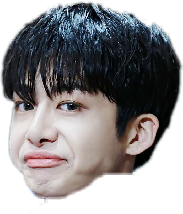 237225604049212?r1024x1024 monstax hyungwon meme sticker by sora no Õkamii