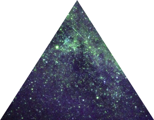 ftestickers galaxy triangle freetoedit