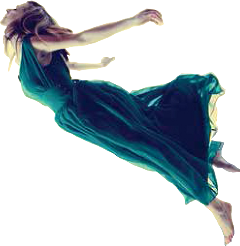 ftestickers woman levitate freetoedit