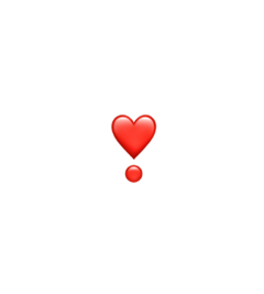 hart exclamation heart