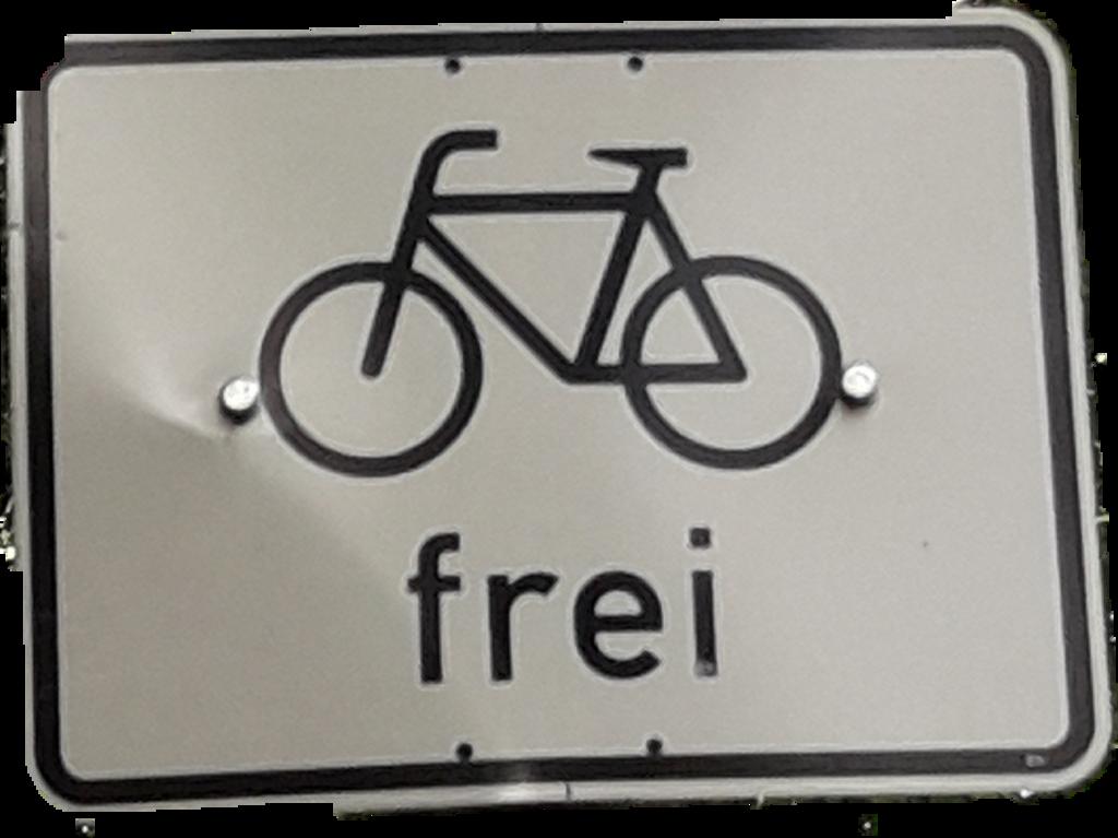 #Fahrrad frei