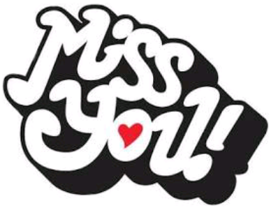 #miss you