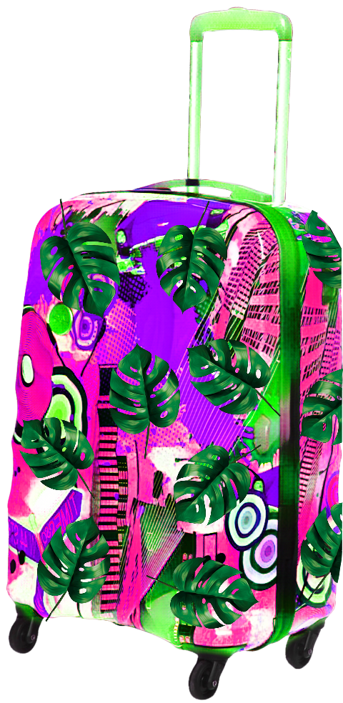 #suitcase #trolley #luggage #summervibes #vacation #vacances #travel #tropical #fashion #summer #ftestickers