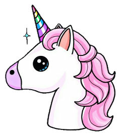 unicorn arcoiris unicornio tumblr sticker