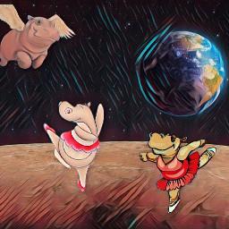 freetoedit dancinghippos