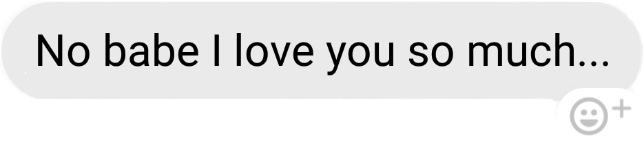 baby bae boyfriend sweet texts