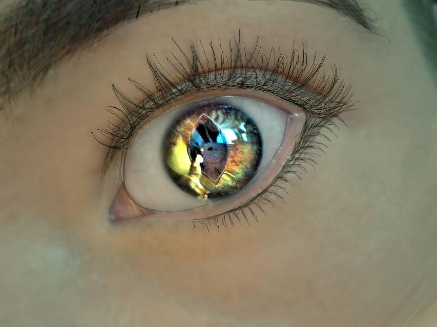 #wapcartooneyes #greeneye #cateyes #drawing #holographic
