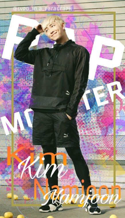 Rap Monster wallpaper I had too much free time, I ende