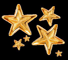 stars gold sticker stickers freetoedit