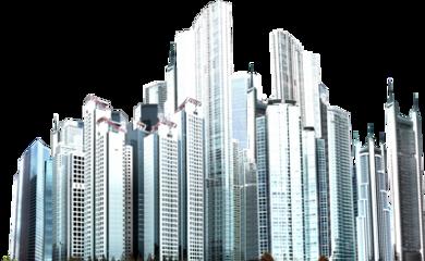 city skyline buildings freetoedit